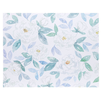 "Watercolor Floral Poster Board - 22"" x 28"""