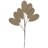Burlap Leaves Pick