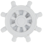 White Nautical Wheel Knob