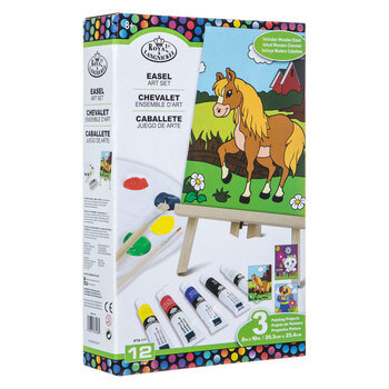 Animals Easel Art Set - 12 Pieces