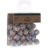Bright Rhinestone Round Beads