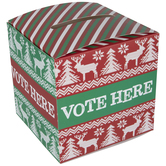 Ugly Sweater Voting Box