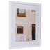 Orange Windows Framed Wood Wall Decor