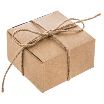 Kraft Favor Boxes With Twine