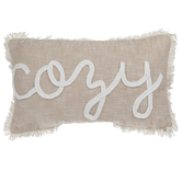 Cozy Slub Knit Pillow
