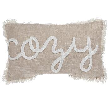 Cozy Slub Knit Pillow