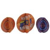 Happy Birthday Bullseye Table Decor