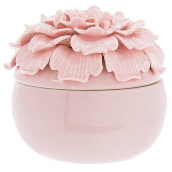 Pink Flower Jewelry Box