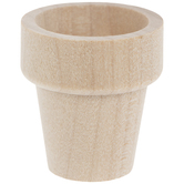 Wood Flower Pots - Small