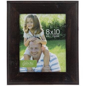 "Coffee Classic Hardwood Wall Frame - 8"" x 10"""