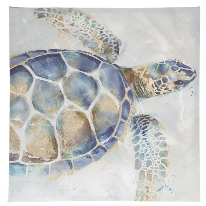 Sea Turtle Canvas Wall Decor Hobby Lobby 1802123