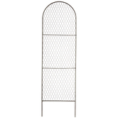 Chicken Wire Trellis Metal Garden Stake