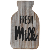 Fresh Milk Wood Decor