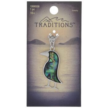 Abalone Seabird Pendant