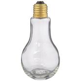 Light Bulb Glass Jar - 7.5 Ounce