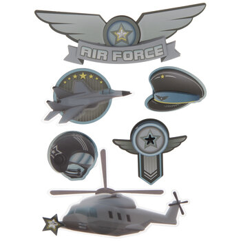 Air Force 3D Stickers