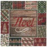 """Rustic Noel Paper Pack - 6"""" x 6"""""""