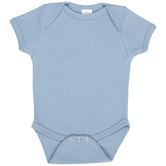 Faded Denim Infant Creeper - 12-18 Months