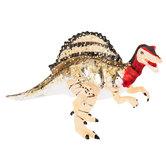 Gold Glitter Deinocheirus Ornament