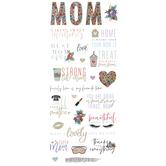 Mom Foil Stickers