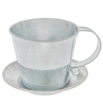 Metal Teacup