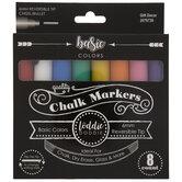 Basic Colors Chalk Markers - 8 Piece Set