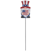 4th Of July Flag Gnome Pick