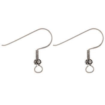 Sterling Silver Fancy Ear Wires