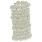 Ivory Pearl Bouquet Wrap