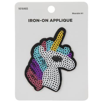 Unicorn Sequin Iron-On Applique