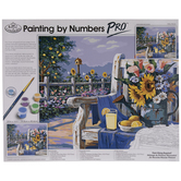 Sunflowers & Lemons By Numbers Kit