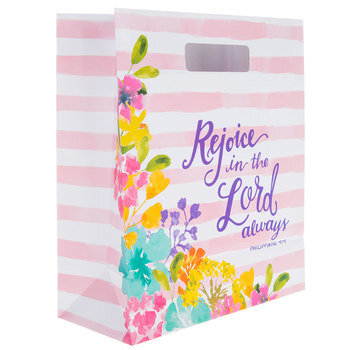 Rejoice In The Lord Watercolor Gift Bag