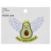 Holy Guacamole Iron-On Applique