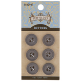 Round Buttons - 16mm