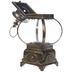 Rusted Gold Metal Antique Lantern