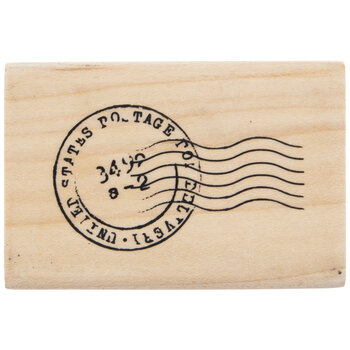 Postmark Rubber Stamp