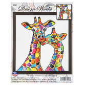 Giraffes Counted Cross Stitch Kit