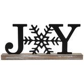 Joy Metal Decor