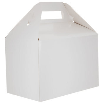 White Gable Box