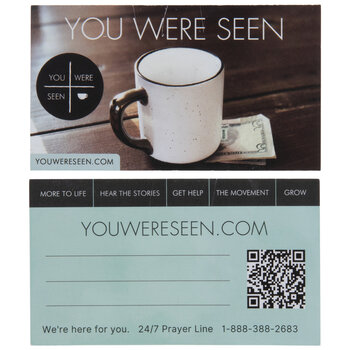 You Were Seen Cards
