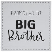 Promoted To Big Brother Wood Decor