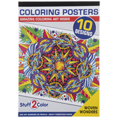 Woven Wonders Poster Coloring Book