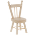 Miniature Wood Spindle Back Chair