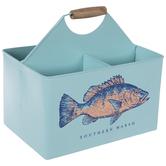 Southern Marsh Fish Metal Caddy