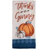 Thanksgiving Pumpkins Kitchen Towel