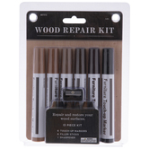 Brown & Black Wood Repair Markers - 13 Piece Set