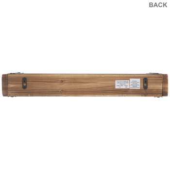 Rustic Chunky Wood Floating Wall Shelf