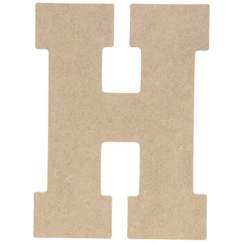 """Wood Letter H - 5"""""""
