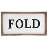 Fold Metal Decor
