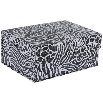 Tan Leopard Print Box - Small